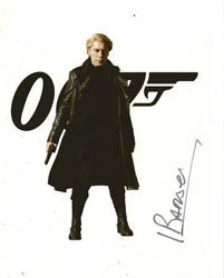 Roles: Raoul Silva :: b'bc 007 autographs and movie props